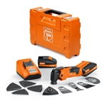 Fein 71292261090 Cordless Multimaster AFMM 18 QSL Cordless Oscillating Multi Tool
