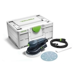 Festool 576339 ETS EC 150/5 EQ 150mm (6 in.) Compact Brushless Finish Sander with Systainer³