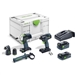Festool 576490 TID 18 Impact Driver and PDC 18 Drill Driver 4.0Ah Combo Kit
