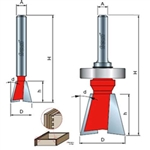 Freud Router Bits: 22-126 Dovetail Bit - Joinery