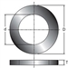 "BL71MBB9, Saw Blade Bushing (d):1/2"" (D):3/4"" by Freud"