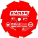 Freud D0708LF PCD Laminate Flooring Blade 7 Inch 8 Carbide Teeth Anti Kick Flooring Blade