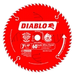 Freud D0760A 7-1/4 in. 60T Ultra Finish Saw Blade