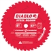 Diablo D0842CF 8 Inch Demon 2 T Cermet II Carbide Ferrous Metal Saw Blade