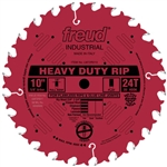 Freud LM72R008 8-Inch 24 Tooth FTG Ripping Saw Blade with 5/8-Inch Arbor and PermaShield Coating