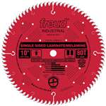 Freud LU98R010 10-Inch 80 Tooth TCG Single Sided Laminate and Melamine Cutting Saw Blade with 5/8-Inch Arbor and PermaShield Coating