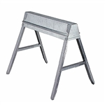 Fulton TS-11 Galvanized Folding Sawhorse 29 in.