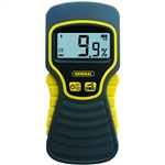 General MMD5NP Non-Penetrating LCD Moisture Meter W/Tricolor Bar Graph
