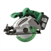 Hitachi C18DL 18V Circular Saw w/ (2) 3.0 Ah Li-Ion Batteries, charger, and case