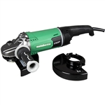 Metabo HPT G23SCY2M 7 in./9 in. 15 Amp Disc Grinder with User Vibration Protection