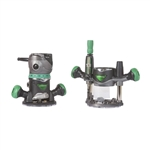 Metabo HPT KM12VC 2-1/4 Peak HP Variable Speed Fixed/Plunge Base Router Kit