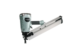"Hitachi NR90AF 3 1/2"" Clipped Head Framing Strip Nailer w/ depth adjustment"