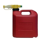 Honda 06176-1415 1.25 Gallon No Spill Gas Can