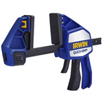 "Irwin 1964711 6"" QUICK-GRIP Heavy-Duty One-Handed Bar Clamp Bar Clamp/Spreader"