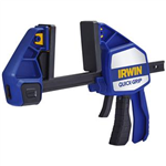 "Irwin 1964712 12"" QUICK-GRIP Heavy-Duty One-Handed Bar Clamp Bar Clamp/Spreader"