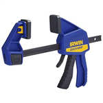 "Irwin 1964718 12"" QUICK-GRIP® Medium-Duty One-Handed Bar Clamps"