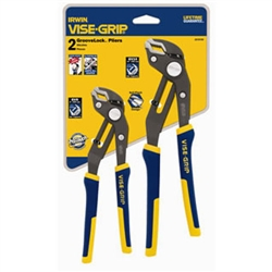 Irwin 2078709 2 Pc. GrooveLock Pliers Set Contains: GV8, GV10