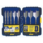 Irwin 341008 8 Pc. Speedbor Blue Groove Pro Set - Wood