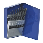 Irwin 63537 15-Piece Black Oxide Coated High Speed Steel Drill Bits