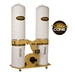 Powermatic 1792073K PM1900TX-BK3 PM1900TX-BK3 Dust Collector, 3HP 3PH 230/460V, 30-Micron Bag Filter Kit