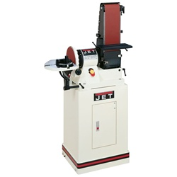 "JET JSG-96CS, 6"" x 48"" Belt / 9"" Disc Sander with Closed Stand"