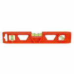 "Johnson Level - Torpedo Levels: 1402-0900 9"" Orange Structo-Cast Torpedo Level - 3 Vial"