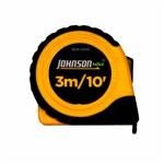 "Johnson Level - Tape Measures: 1828-0010 3m/10' x 5/8"" Metric/Inch Power Tape"
