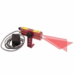 Johnson Level - Industrial Cross-Line Lasers: 40-6230 Red Industrial Alignment Cross-Line Laser Level 110V AC