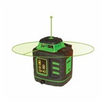 Johnson Level - Self-Leveling Rotary Lasers: 40-6543 Self­Leveling Rotary Laser Kit with GreenBrite® Technology