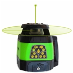 Johnson Level - Electronic Self-Leveling Rotary Lasers: 40-6544 Electronic Self-Leveling Horizontal & Vertical Rotary Laser Kit with GreenBrite® Technology