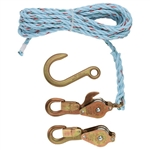Klein 1802-30 Block and Tackle with Anchor Hook Cat. No. 258