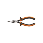 Klein 203-6-EINS 6'' Long Nose Pliers Side Cutting Slim