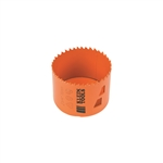 Klein Tools 31944 Bi-Metal Hole Saw, 2-3/4 Inch