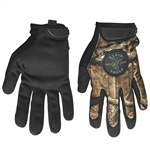 Klein 40208 Journeyman Camouflage Gloves, size M