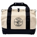 Klein 5003-20 Canvas Tool Bag with Leather Bottom, 20 in.
