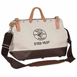 Klein Tools 5102-18SP 18'' (457 mm) Deluxe Canvas Tool Bag