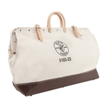 Klein 5102-22 Canvas Tool Bag, 22 in.