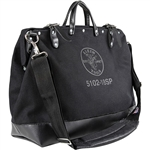 Klein 510218SPBLK Tool Bag, Large Canvas, 13 Pockets