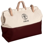 Klein 5105-20 High-Bottom Canvas Tool Bag, 20 in.