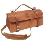 Klein 5108-18 Deluxe Leather Bag, 18 in.