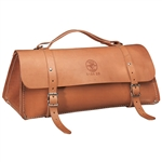 Klein 5108-24 Deluxe Leather Bag, 24 in.
