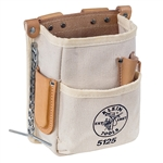 Klein Tools 5125 5-Pocket Tool Pouch - Canvas
