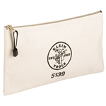 Klein Tools 5139 Canvas Zipper Bag