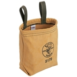 Klein Tools 5179S Water-Repellant Canvas Pouch - Snap