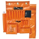 Klein Tools 51829MHS Aerial Apron with Hot Stick Pocket & Magnet