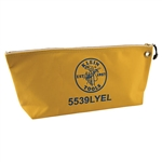 Klein 5539LYEL Canvas Bag with Zipper, Large Yellow