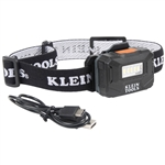 Klein 56049 Rechargeable Light Array Headlamp with Strap, 260 Lumen, All-Day Runtime