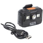 Klein 56062 Rechargeable Headlamp and Worklight, 300 Lumens All-Day Runtime