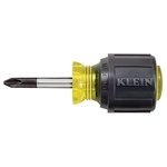 Klein 603-1 Stubby Screwdriver, Number 2 Phillips, 1-1/2 in. Shank