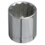 Klein Tools 65704 3/8-Inch Drive  5/8'' Standard 12-Point Socket